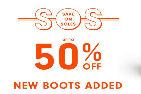50 Off New Boots